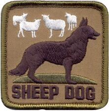 """Sheep Dog Military Morale Patch - 2.5"""""""