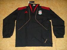 Liverpool Soccer Windbreaker England Adidas Coat Football Wind Jacket NEW