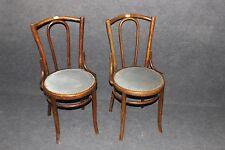 2 Stück Stühle  Buche Thonet Designer Bugholz Stuhl gepolstert  #2373