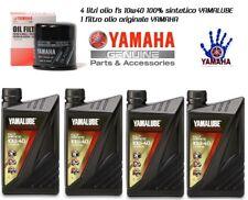 KIT TAGLIANDO 4 YAMALUBE 10W40 FS FILTRO OLIO YAMAHA XV S 950 A MIDNIGHT STAR
