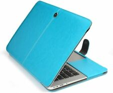"""TOPIDEAL Leather Sleeve Case Pouch Cover for Apple MacBook Air 13"""" - Aqua Blue"""