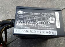 1PC Cooler Master RS-550-ACAA-E3 110-240V 7-5A 60-50HZ 550W power supply#ZH