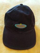 HORNY TOAD Women's Vintage Embroidered Logo Hat Adjustable Stapback Navy Blue