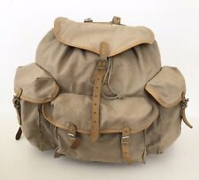 1970's Lafuma Vintage Canvas Mountain Mountaineering Scout Hiking Backpack