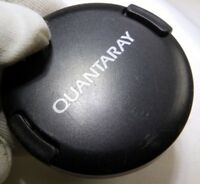 Quantaray 52mm Front Lens Cap Snap on type for