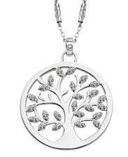 Lotus Silver Collar Cadena Con Colgante Árbol de la Vida Plata LP1892-1/1