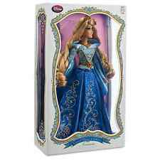 "DISNEY STORE AURORA/SLEEPING BEAUTY 17"" DOLL LE 4000 ~ BLUE DRESS ~ BNIB"