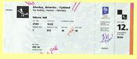 Orig.ticket   Olympic W.Games LILLEHAMMER 1994   Icehockey AUSTRIA - GERMANY  !!