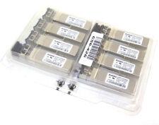 Lot of 8 Avago AFBR-57R5AQZ 4gb 850nm Laser Prod Fiber SFP Transceiver GBIC