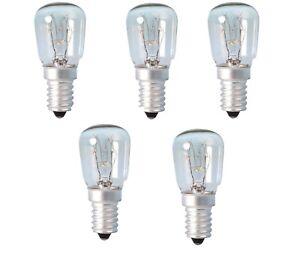 25w Watt Pygmy Bulbs SES E14 Appliance Lava Larva Lamp Screw in Bulbs Lamps x 5