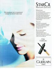 Publicité Advertising 018  1990  Guerlain maquillage yeux  mascara