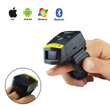Finger 1D FS01 Wireless Bluetooth Laser Barcode Scanner for Warehouse Logistic