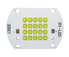 100W Cree XT-E XTE Pure White 5000K Led Module Chip Light 30-33V 3A