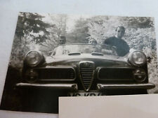 Foto Auto KFZ Alfa-Romeo Cabriolet Oldtimer vintage 1960er Sportwagen