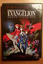 Neon Genesis Evangelion: Death and Rebirth DVD Anime Film R1