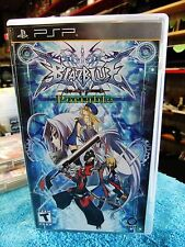 BlazBlue: Calamity Trigger Sony PSP Complete