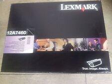 LEXMARK CARTUCCIA TONER NERO ORIGINALE per SERIE T630/T632 e T634 - COD: 12A7460