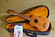 kamaka /white label uke. Koa wood   with case