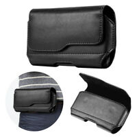 Universal Men's Belt Pouch Clip Hip Loop Case for Mobile Phone Cover PU Wallet