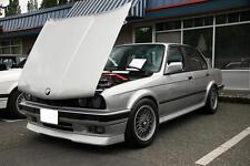 BMW E30 front Bumper spoiler chin lip addon valance trim splitter Rieger style