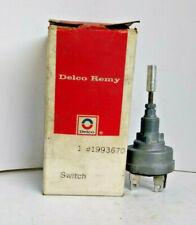 NOS DELCO REMY WIPER SWITCH 1965 1966 1967 CHEVROLET GMC TRUCK 1993670