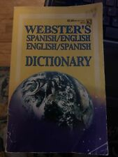 Webster's Spanish / English English / Spanish Dictionary