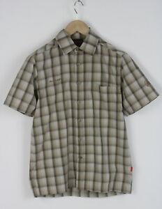 MAMMUT 1030-0460 Men's SMALL Short Sleeve Polyester Blend Poplin Shirt 26017_JS