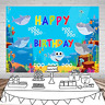 Gya Baby Shark Party Supplies And Decorations Birthday Backdrop For Photography