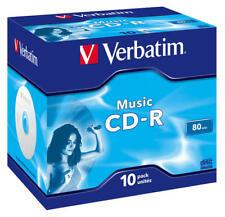 Verbatim CD-R Audio 80min Music Life Plus Jewel Case 10pz 43365