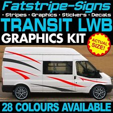 FORD TRANSIT LWB GRAPHICS STICKERS STRIPES DECALS SPORT ST DAY VAN CAMPER 2.0 D