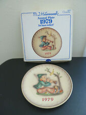 "Goebel Hummel 1979 9th Annual Plate ""Singing Lessons"" Hum 272"