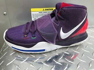 Mens Nike Kyrie 6 Enlightenment Purple Sneakers BQ4630 500 Size 9