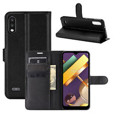 Classic Magnetic PU Leather Flip Wallet Case Stand Cover For LG K22 / K22+ PLUS
