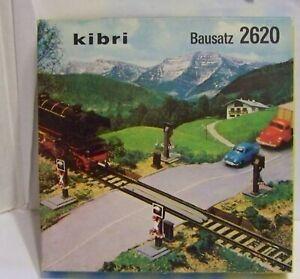 KIBRI Spur H0, 2620, Bausatz Bahnübergang, ungebaut, OVP, XT7185X