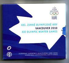 Slovacchia  Divisionale  2010 Olimpiadi Invernali Vancouver