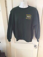 Men's Scott's Bait & Tackle Shop Embroidered Striper Green Sweatshirt XL USA