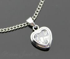 Stainless Steel Love Hearts Fashion Necklaces & Pendants
