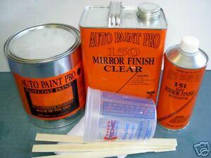 Mopar Sub Lime urethane basecoat clearcoat auto body shop restoration paint kit
