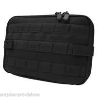 Condor Large T&T Tactical Tool Pouch Black - Molle pack tools, gear, mag #MA54