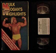 WWF, NWA, AWA, WCW, WWE VHS, Hulk Hogan, Andre, WrestleMania, 17, 29, VERY RARE!