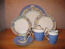Medard de Noblat *NEW* Athéa Bleu Set 4 Assiettes + 1 Tasse