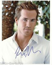 Ryan Reynolds #1  8 x 10 Autograph Reprint  Van Wilder  X-Men Origins: Wolverine