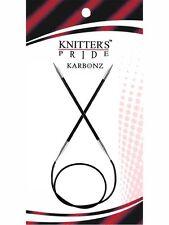 Knitter's Pride ::Karbonz Circular Needles:: 2 US 40 in