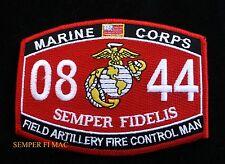 MOS 0844 FIELD ARTILLERY FIRE CONTROL MAN PATCH US MARINES PIN UP USS FMF GIFT