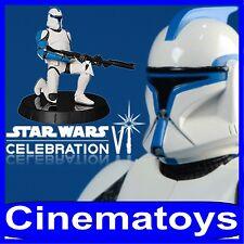 STAR WARS Gentle Giant Clone Trooper Lieutenant Statue Celebration VI EXCLUSIVE