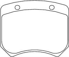 Mintex M1144 AP Racing CP2576 CP2577 CP3176 CP3177 CP3178 Rear Brake Pads