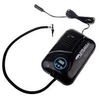Black Digital Portable Electronic Tyre Air Compressor 12V Car Tire Inflator Digi
