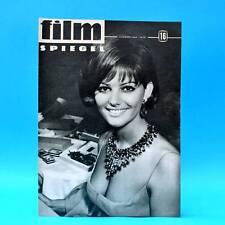 DDR Filmspiegel 16/1964 Claudia Cardinale Wilhelm Koch-Hooge Mir nach, Canaillen
