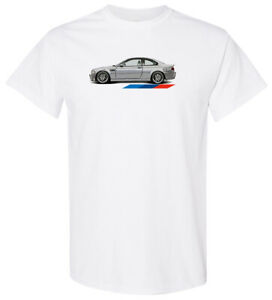 BMW E46 M3 Shirt Soft Sublimation Polyester Feels Like Cotton *READ*