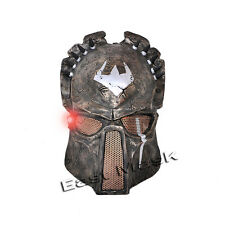 NEW Paintball Airsoft Full Face Protection Alien Vs Predator Mask Cosplay Prop